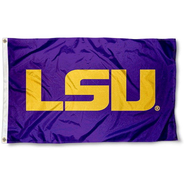 LSU Official Purple Flag