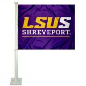 LSU Shreveport Car Flag