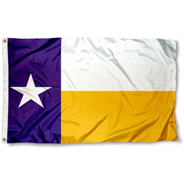 LSU Texas State Flag