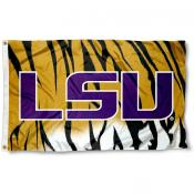 LSU Tiger Stripe Flag
