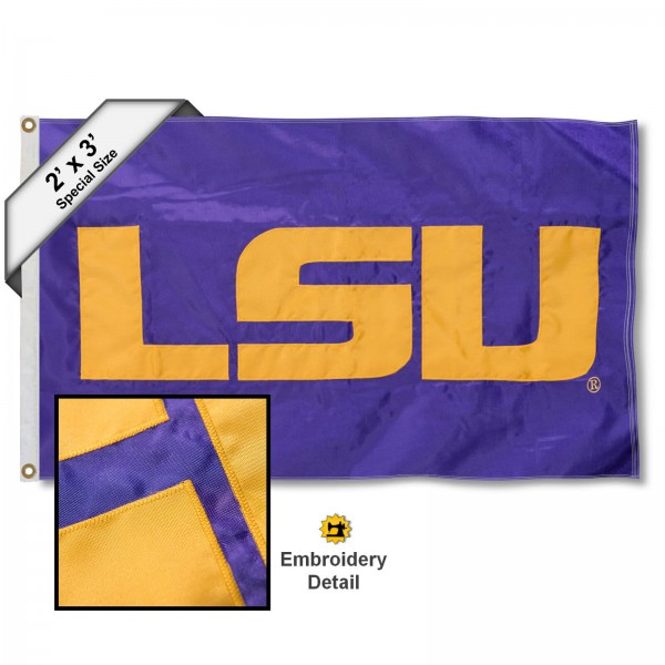 LSU Tigers 2x3 Flag