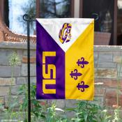 LSU Tigers Acadian Garden Flag