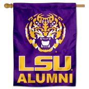 LSU Tigers Alumni House Flag