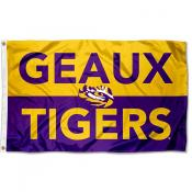 LSU Tigers Geaux Tigers Outdoor Flag