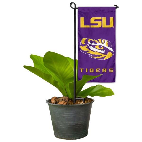 LSU Tigers Mini Garden Flag Marker