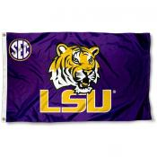 LSU Tigers SEC Flag