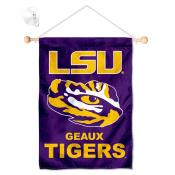 LSU Tigers Small Wall and Window Banner
