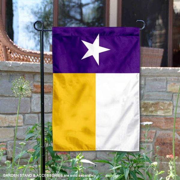LSU Tigers Texas TX State Double Sided Garden Flag