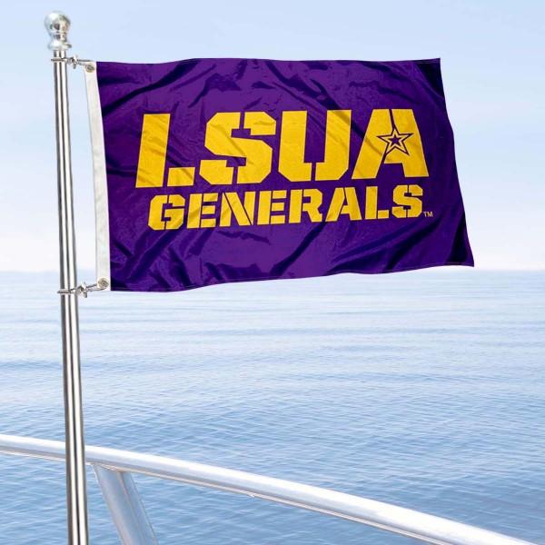 LSUA Generals Boat Nautical Flag