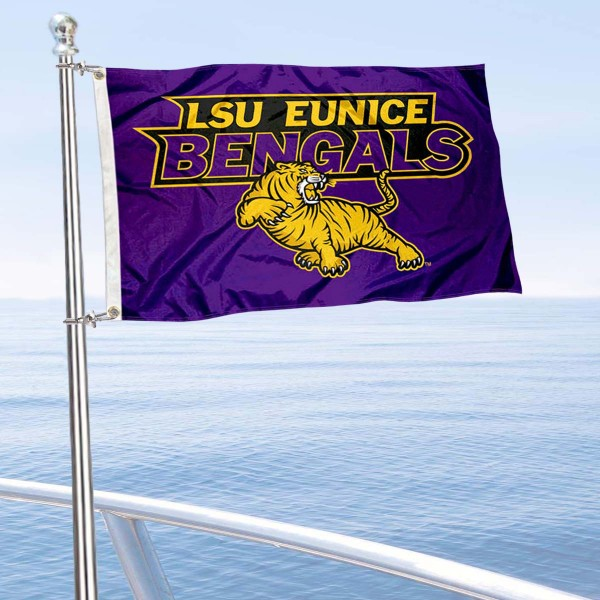 LSUE Bengals Boat Nautical Flag