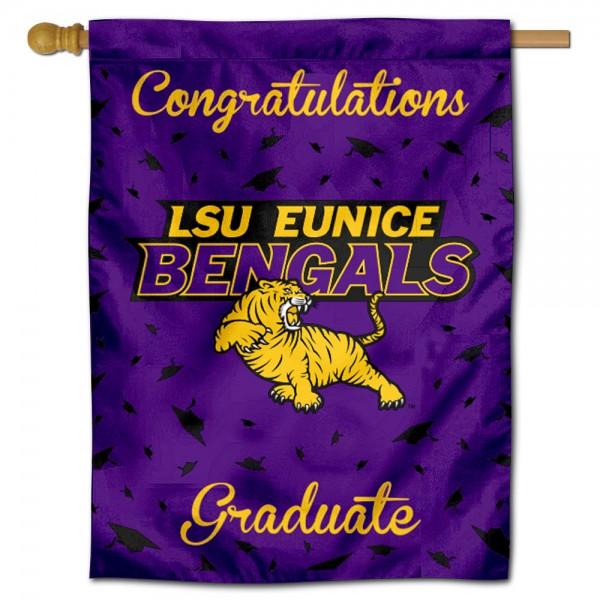 LSUE Bengals Graduation Banner