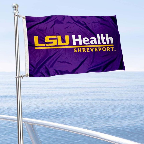 LSUH Shreveport Boat Nautical Flag
