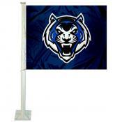 LU Blue Tigers Car Flag