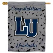 LU Blue Tigers Graduation Banner