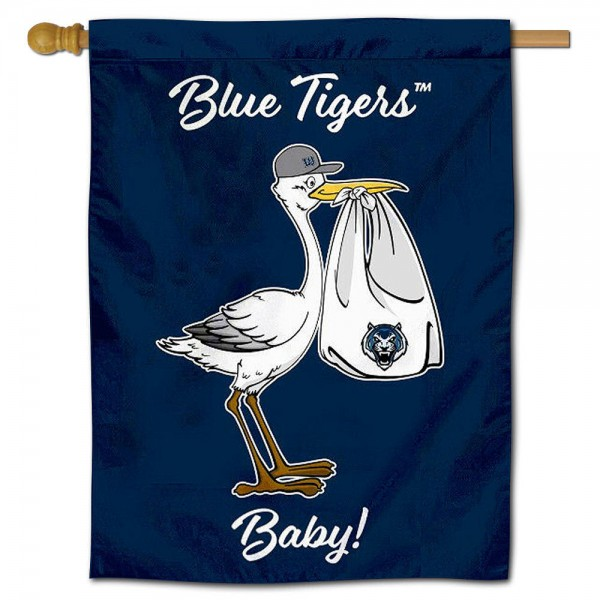 LU Blue Tigers New Baby Banner