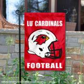 LU Cardinals Football Garden Flag