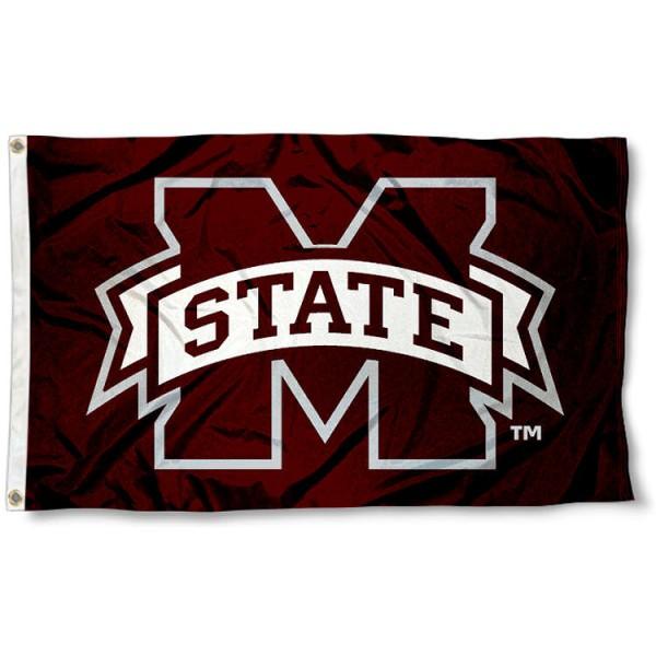 M State Bulldogs Flag