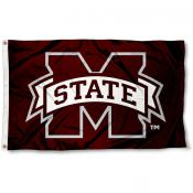 M State Bulldogs Flag