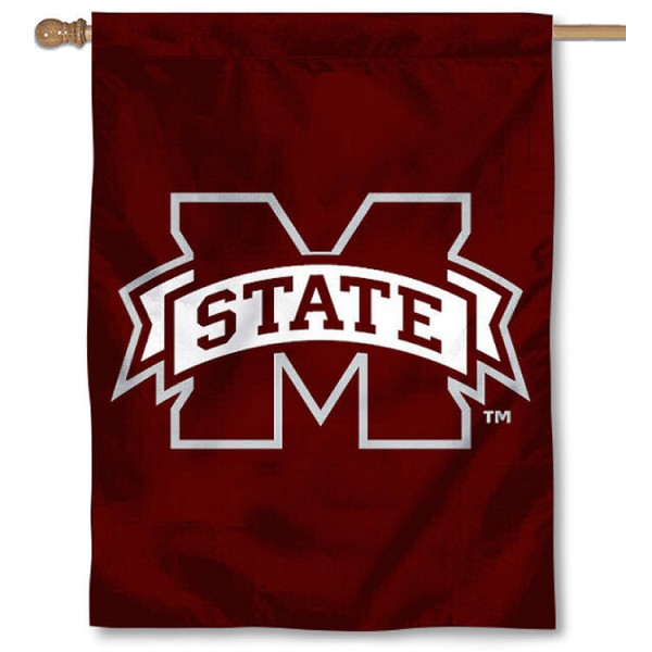 M State Bulldogs House Flag