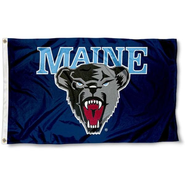 Maine Black Bears Flag