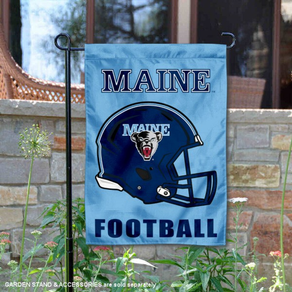 Maine Black Bears Football Garden Flag