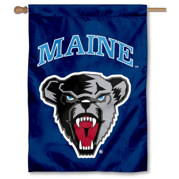 Maine Black Bears House Flag