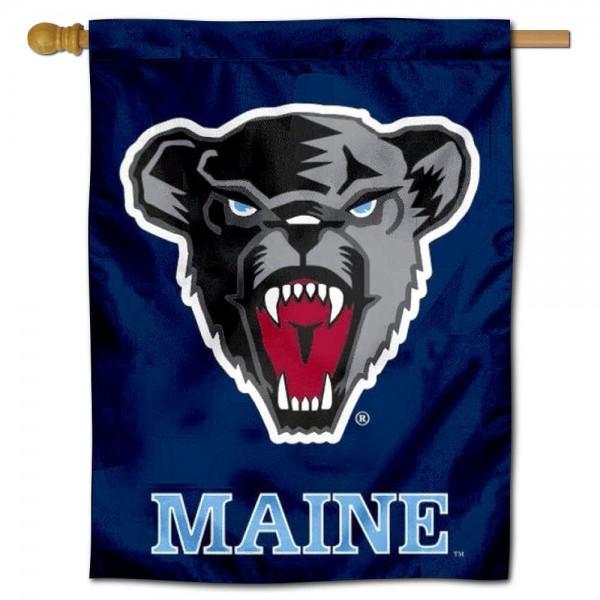 Maine Black Bears House Flag