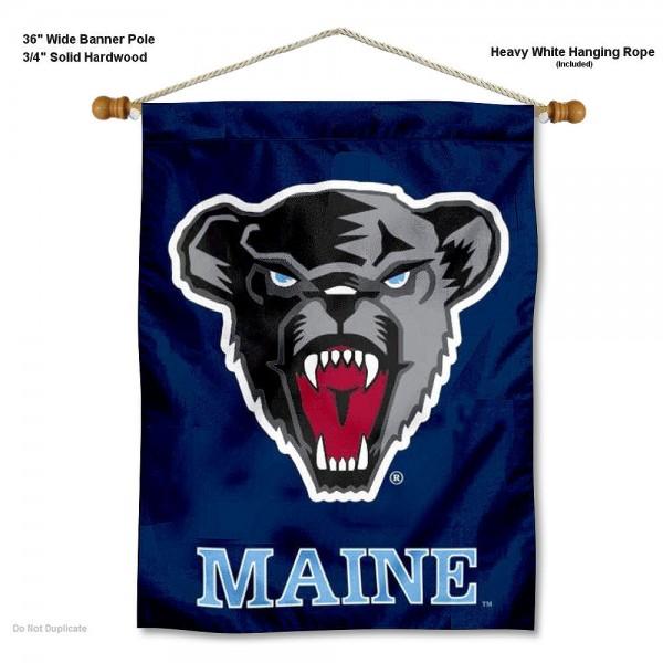 Maine Black Bears Wall Hanging