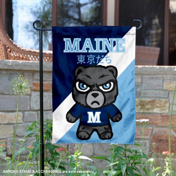 Maine Black Bears Yuru Chara Tokyo Dachi Garden Flag