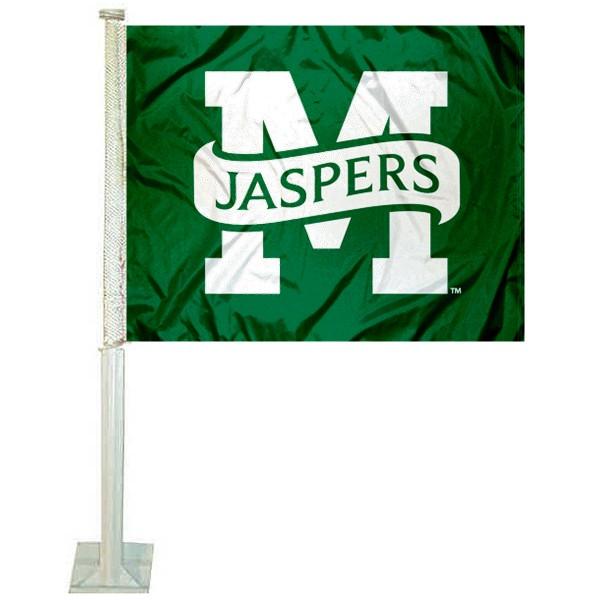 Manhattan Jaspers Car Flag