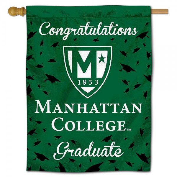 Manhattan Jaspers Graduation Banner