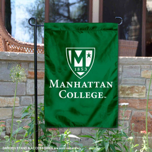 Manhattan Jaspers Insignia Double Sided Garden Flag