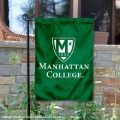 Manhattan Jaspers Insignia Double Sided Garden Flag