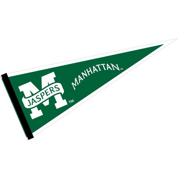 Manhattan Jaspers Pennant