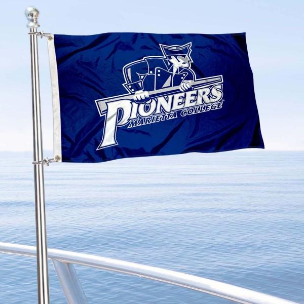 Marietta Pioneers Boat Nautical Flag