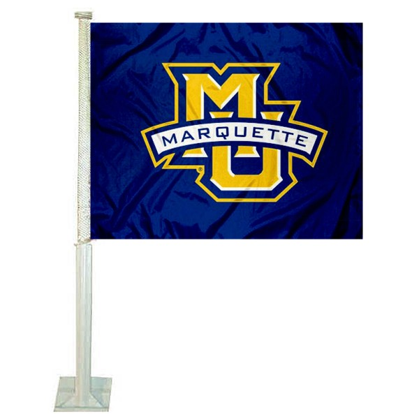 Marquette Golden Eagles Car Flag