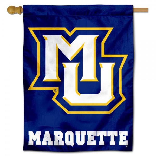 Marquette MU Golden Eagles House Flag