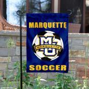 Marquette Soccer Garden Flag