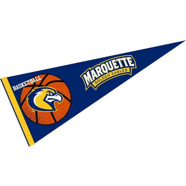 Marquette University Golden Eagles Basketball Pennant