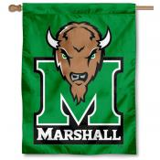 Marshall Kelly Green College House Flag