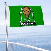 Marshall Thundering Herd Boat Nautical Flag