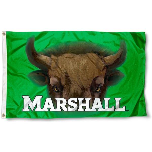 Marshall Thundering Herd Eyes Flag