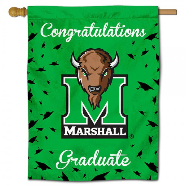 Marshall Thundering Herd Graduation Banner