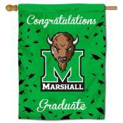 Marshall Thundering Herd Graduation Banner