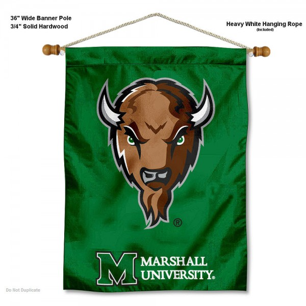 Marshall Thundering Herd Wall Hanging