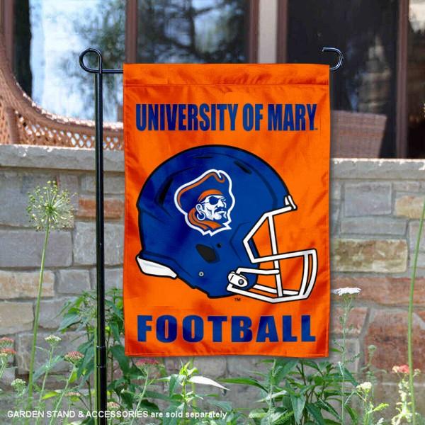 Mary Marauders Football Garden Flag