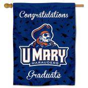 Mary Marauders Graduation Banner