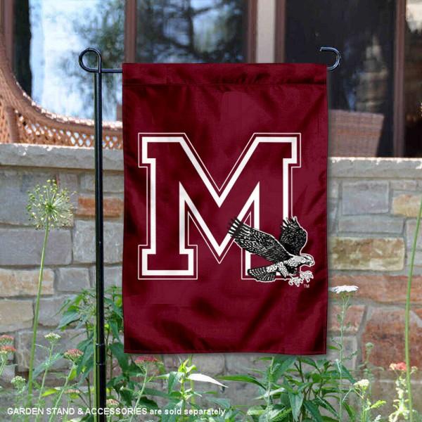Maryland Eastern Shore Hawks Double Sided Garden Flag