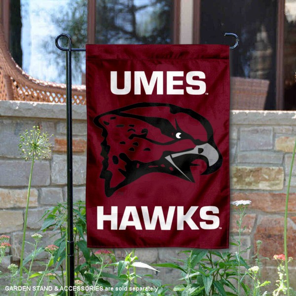 Maryland Eastern Shore Hawks Garden Flag
