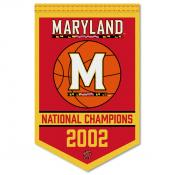 Maryland Terps College Basketball National Champions Banner